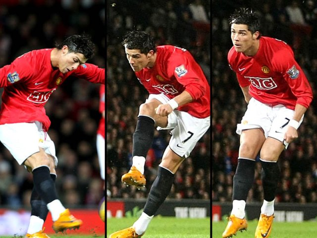 Como patear como Cristiano Ronaldo