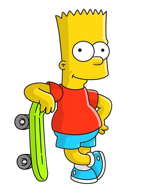 Como Dibujar a Bart Y Homero Simpson