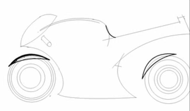 Como dibujar una moto - Taringa!