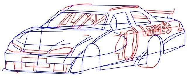 Fiat 128 [dibujo a mano]+[paso a paso]