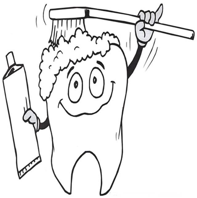 Dibujos para colorear de higiene personal - Imagui