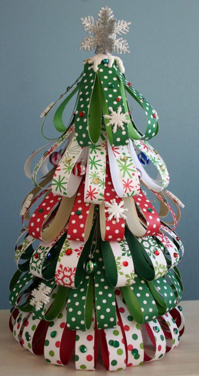 Ideas para decorar un rbol de navidad taringa - Ideas para decorar en navidad con material reciclable ...